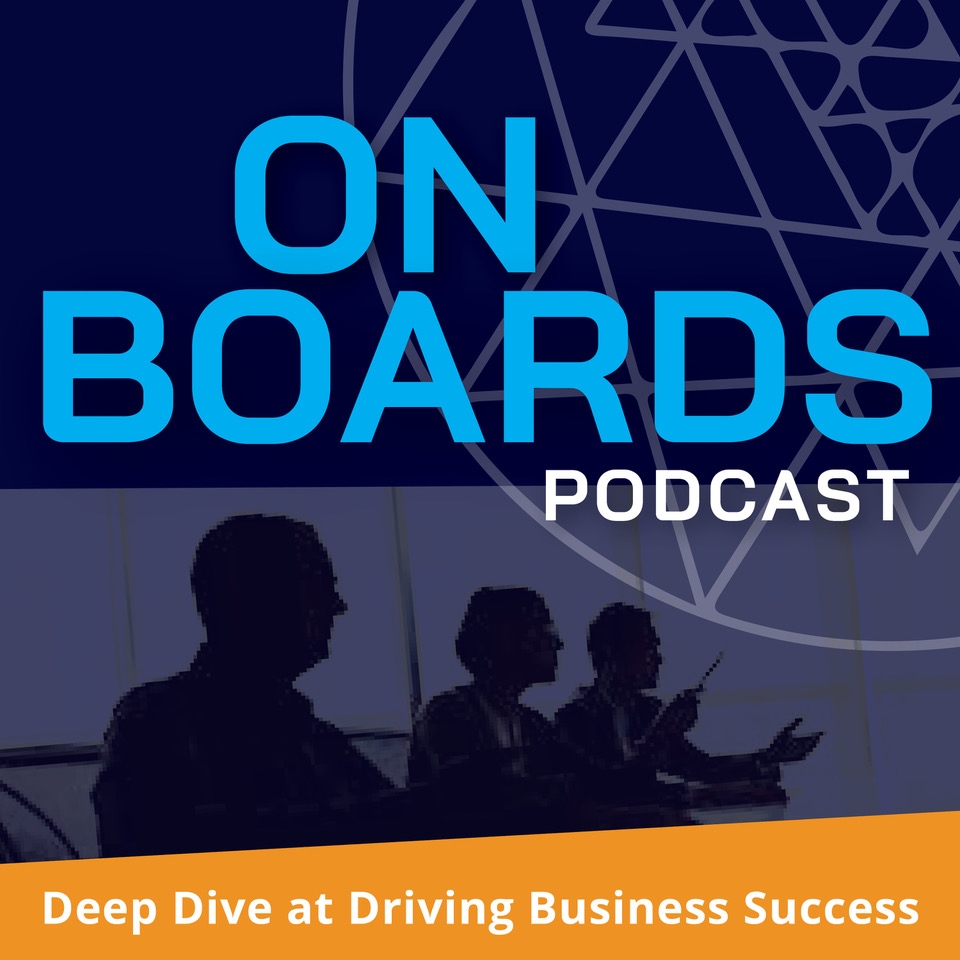 On Boards Podcast Logo